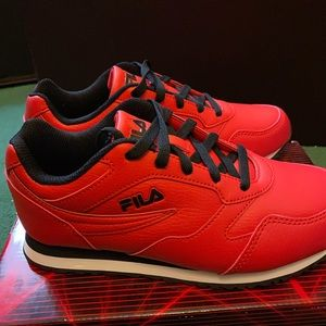 Fila Red Sneakers